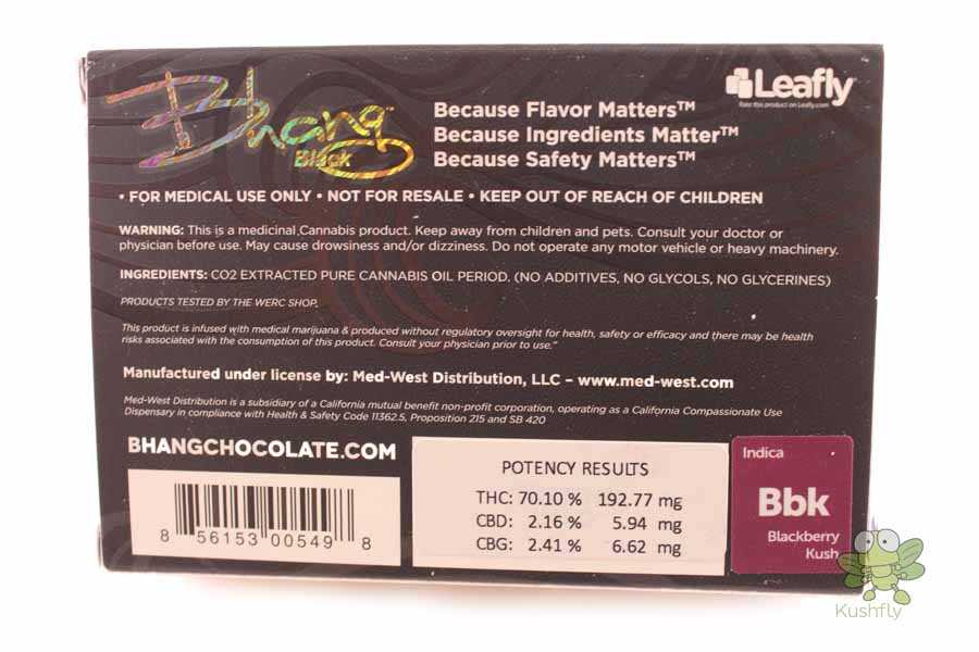 This is an image of Clean Private Reserve Black Label Cartridge