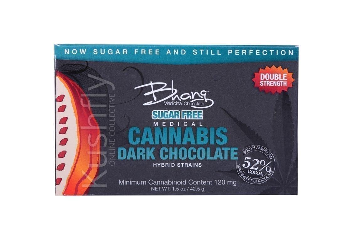 Bhang Sugar Free Dark Cannabis Chocolate