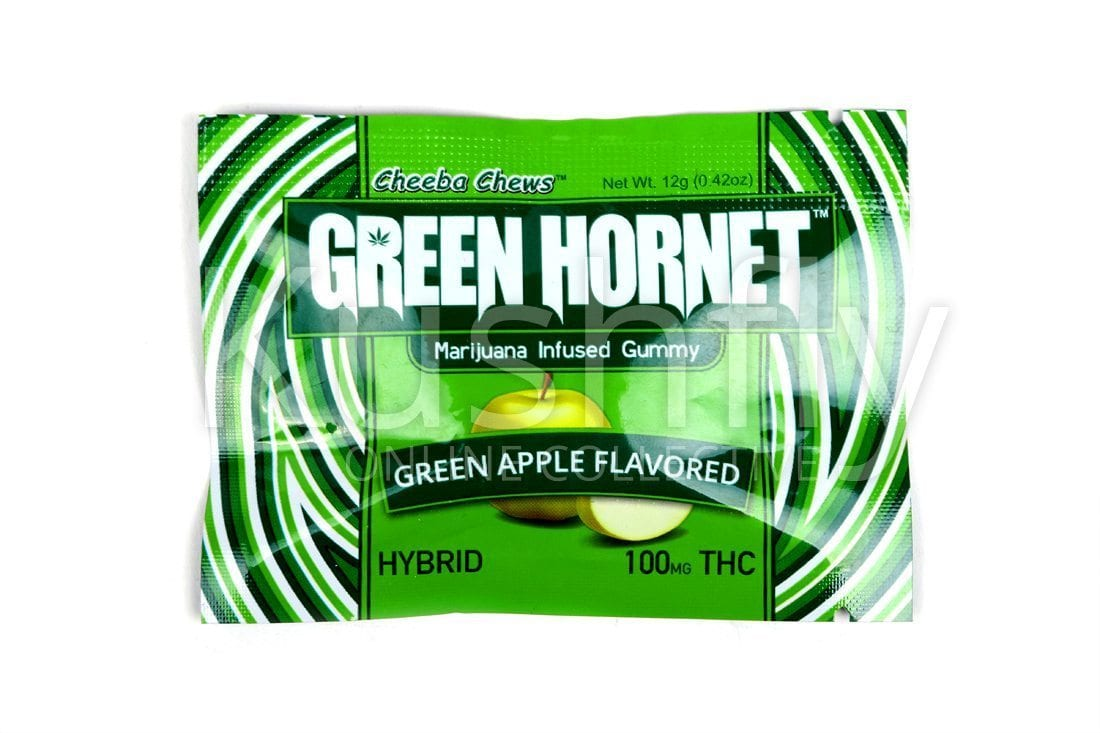 Cheeba Chews Green Hornet Gummies Delivery - Kushfly com