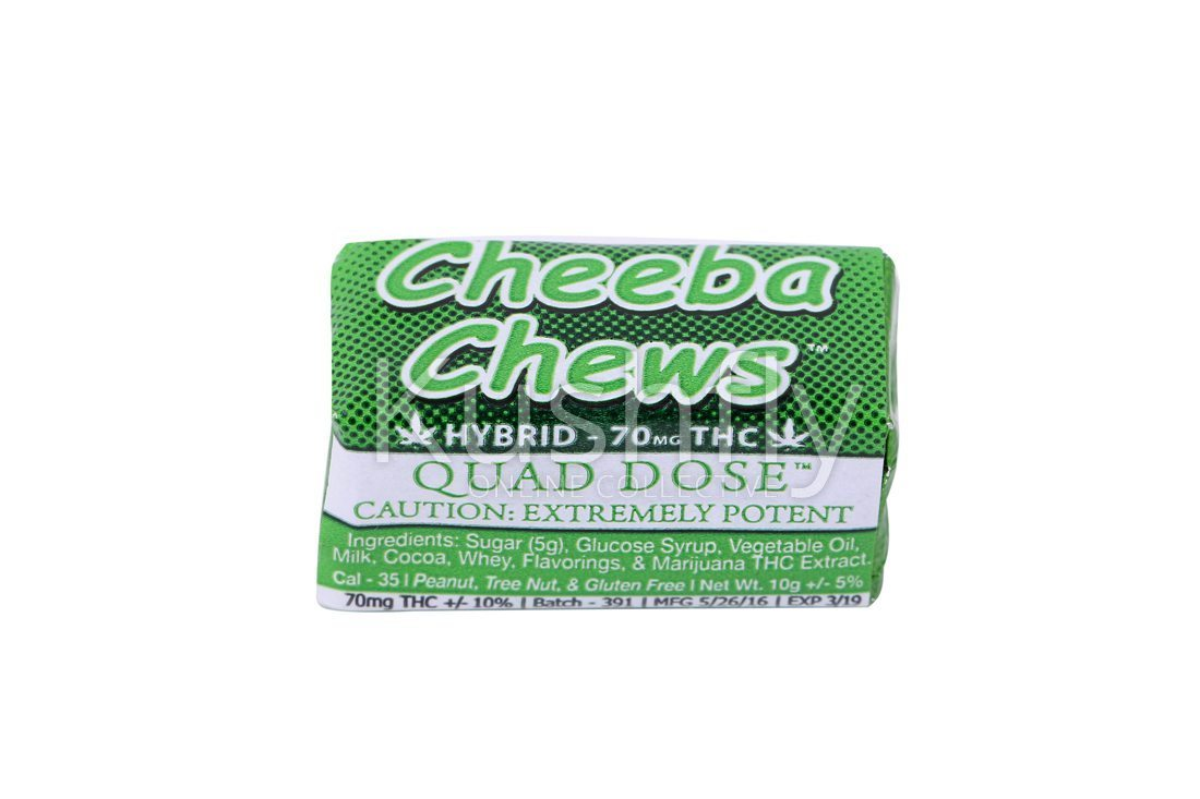 Cheeba Chews Quad Dose Hybrid