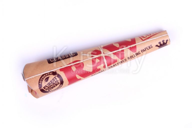 Raw King Size Supreme Classic Prerolled Cones