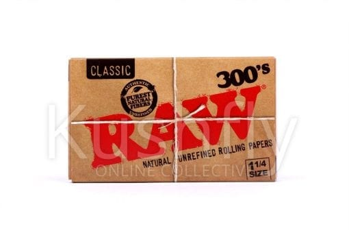 Raw Classic 300's Unrefined Rolling Paper