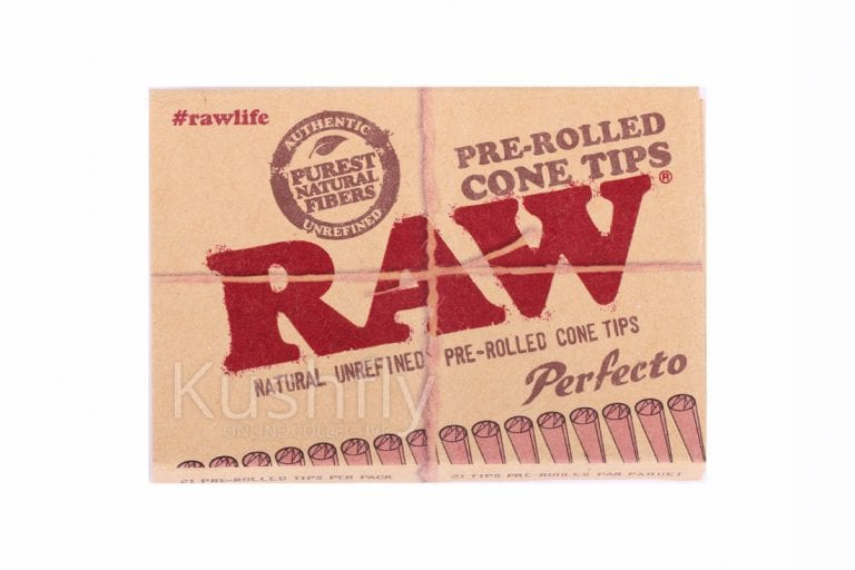 Raw Prerolled Cone Tips