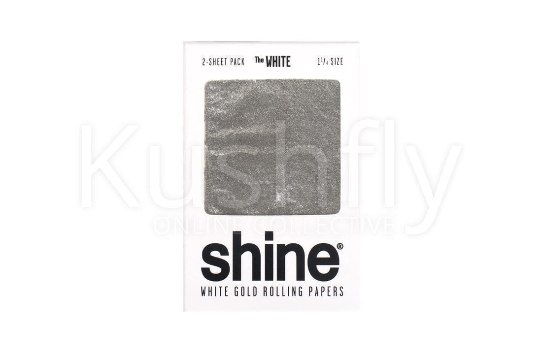 Shine Papers White Gold Sheet Rolling Paper
