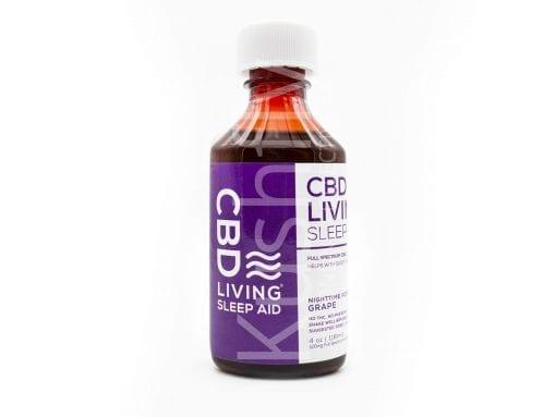 KushFly - CBD Living PM Syrup Sleep Aid