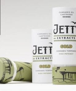 Jetty Gold Cartridge Delivery