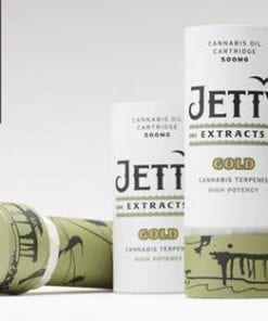 Jetty Extracts Alien OG Gold Oil Cartridge Delivery Los Angeles
