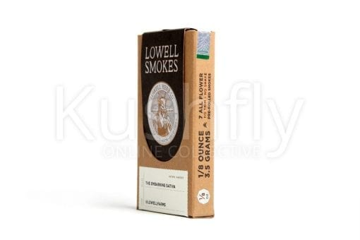 Lowell Herb Co. Sativa Pack of 7 Prerolled Lowell Smokes