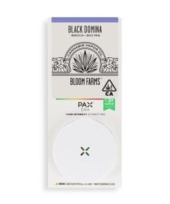 Bloom Farms Pax Black Domina Cartridge Delivery Los Angeles California