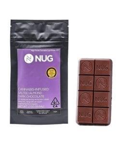 Nug Dark Chocolate Almond Bar Delivery