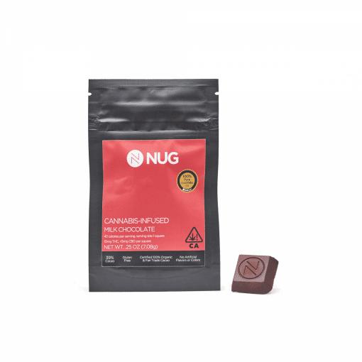 Nug Milk Chocolate Bar Delivery