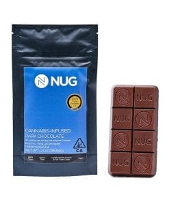 Nug Dark Chocolate Bar Delivery