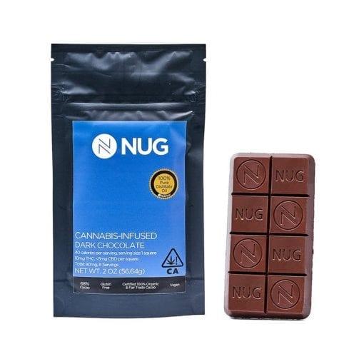 Nug Dark Chocolate Bar Delivery