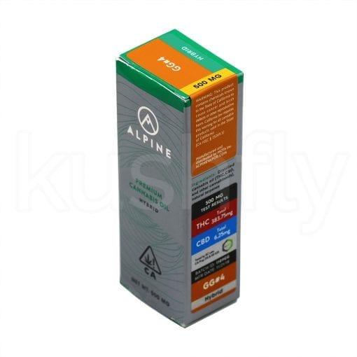 Alpine Gorilla Glue Cannabis Oil Cartridge Delivery