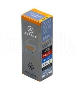 Alpine Super Silver Haze Cannabis Oil Cartridge Delivery