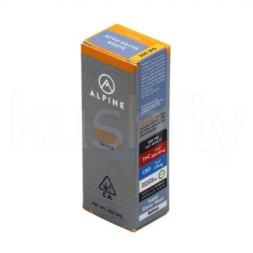 Alpine Super Silver Haze Cannabis Oil Cartridge Delivery