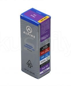 Alpine True OG Cannabis Oil Cartridge Delivery Los Angeles