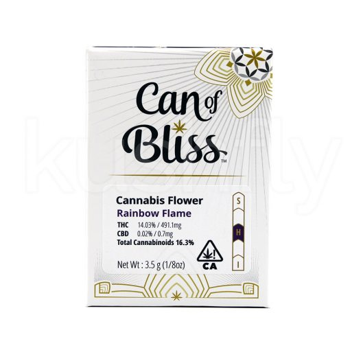 Can Of Bliss Rainbow Flame Marijuana Delivery