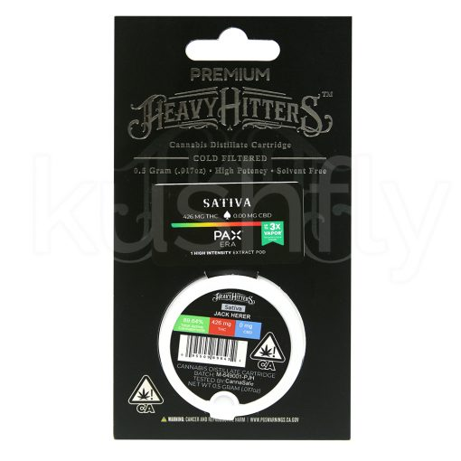 Heavy Hitters Pax Era Pod Jack Herer Cartridge Delivery