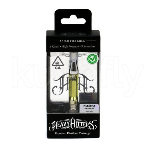 Heavy Hitters Pineapple Express Vape Cartridge Delivery Los Angeles