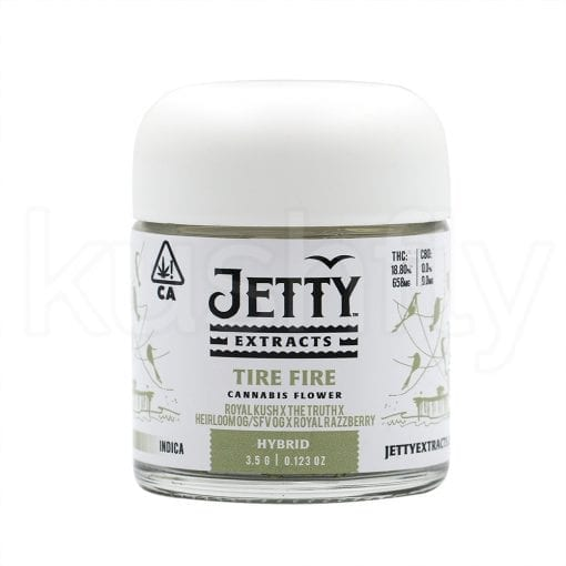 Jetty Extracts Tire Fire Marijuana Delivery