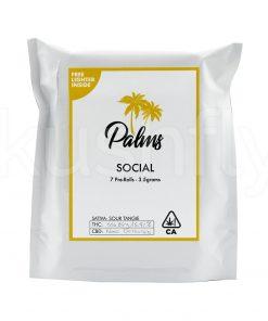 Palms Social 7 Prerolls Marijuana Delivery