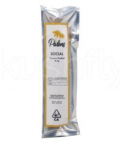 Palms Social Preroll Sativa Marijuana Delivery