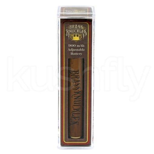 Brass Knuckles Adjustable Voltage Wood Grain Battery Delivery