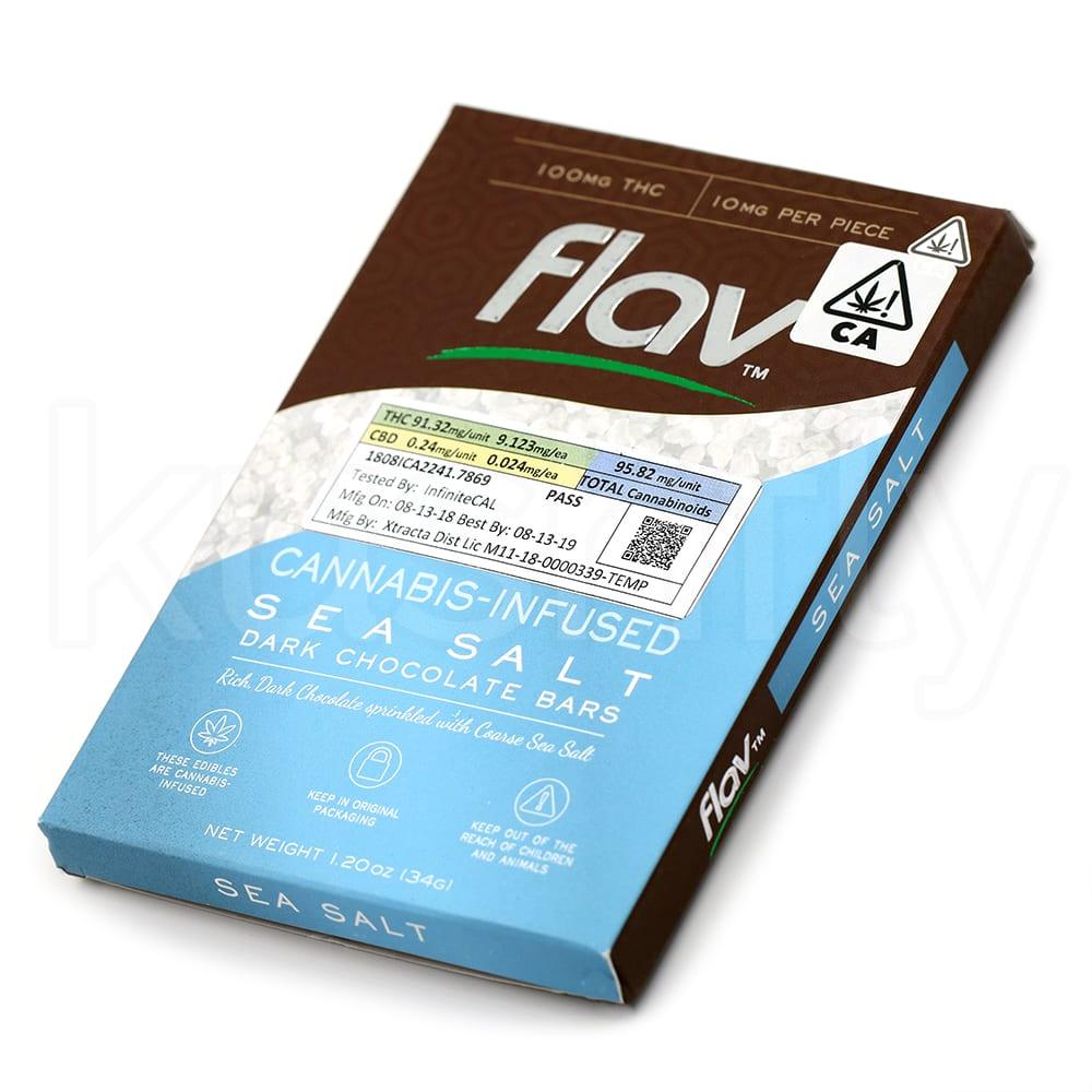 Flav Sea Salt Dark Chocolate Edibles Delivery