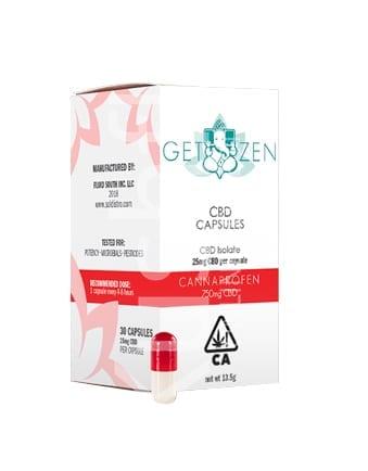Get Zen Cannaprofen CBD Capsules Delivery