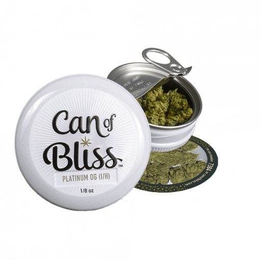 Can Of Bliss Platinum OG Marijuana Delivery