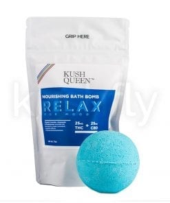 Kush Queen Relax Bath Bomb Delivery Los Angeles