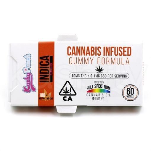 Kushy Punch Indica Gummies Marijuana Delivery