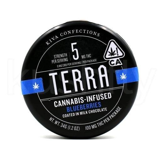 Kiva Terra Blueberry Beans Marijuana Delivery