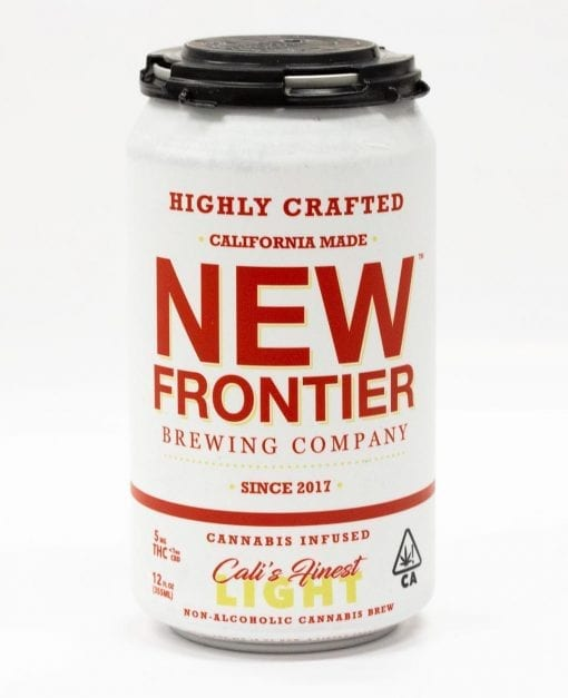 New Frontier Brewing Company Cali's Finest Light Delivery