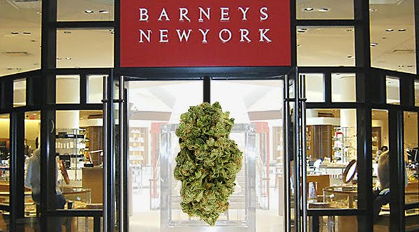 Marijuana Delivery Making Its Way Into Barneys New York