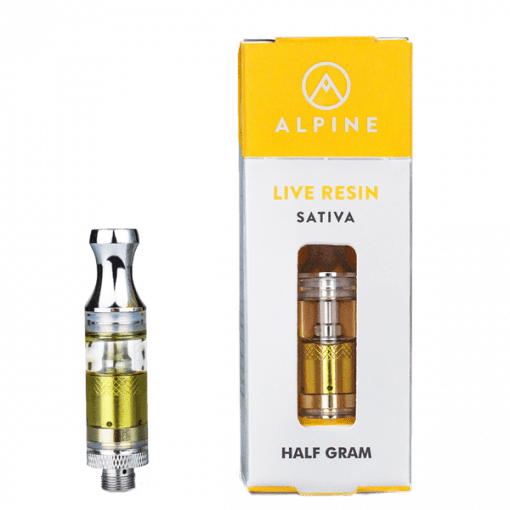 Alpine Live Resin Tangie Cartridge Delivery