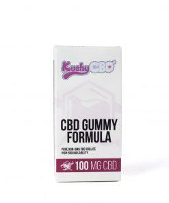 Kushy Punch Plum CBD Cannabis Infused Gummies