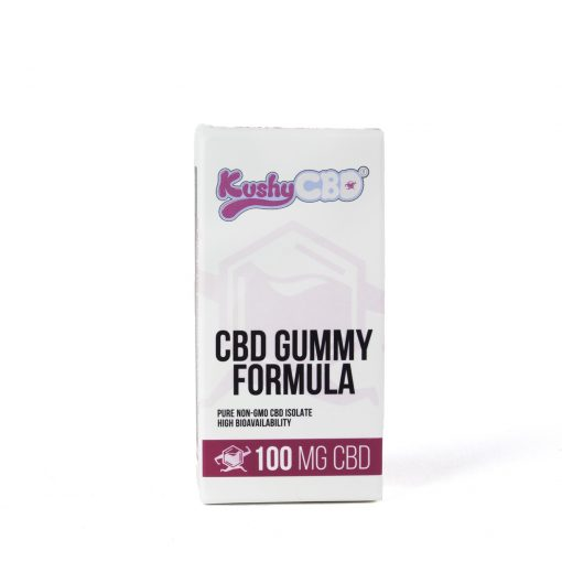 Kushy Punch Plum CBD Cannabis Infused Gummies