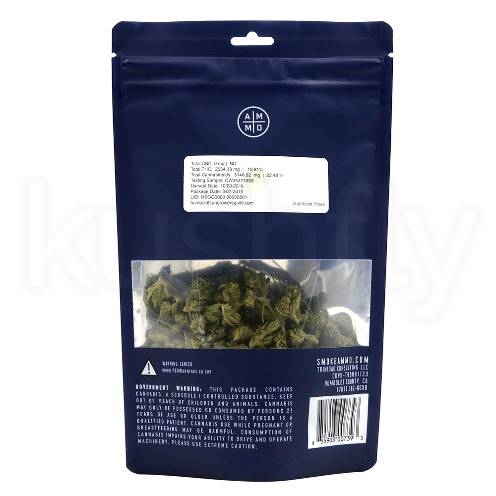 Ammo Indica Flower 14g Marijuana Delivery | Kushfly