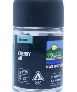 Glass House Farms Cherry AK 3.5g Marijuana Delivery