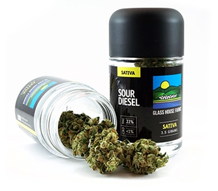 Glass House Farms Sour Diesel 3.5g Marijuana delivery