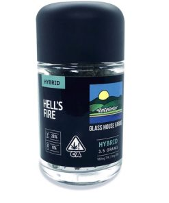 Glass House Farms Hell's Fire 3.5g Marijuana delivery