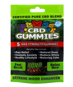 Hemp Bombs CBD Gummies Relax