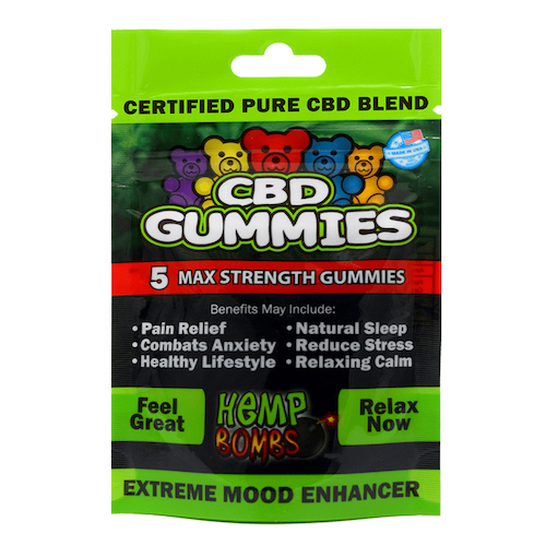 Hemp Bombs CBD Gummies Relax
