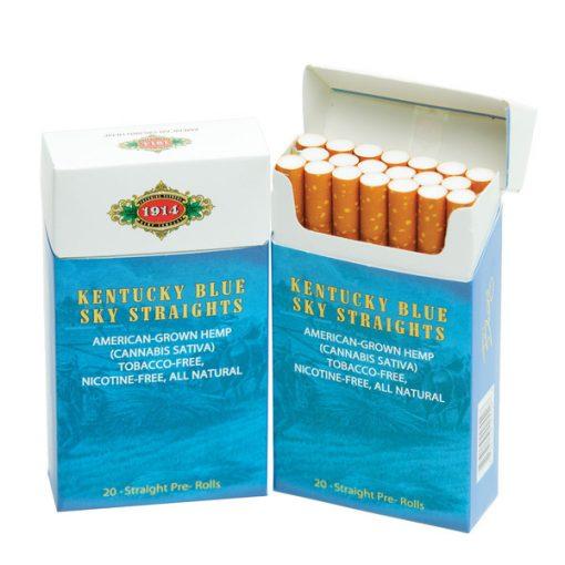 Bhang Hemp Cigarettes Kentucky Blue 20-Pack