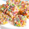 Kushbee Fruit Loops Cereal Treat