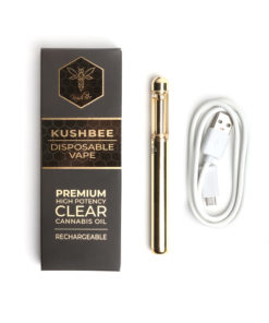 KushBee Disposable Vape Green Crack 1G