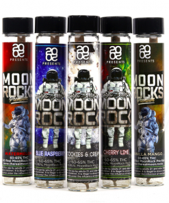 2020 The Real MOONROCK Blue Raspberry Preroll