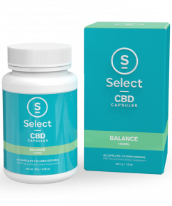 Select CBD Soft Gel Capsules-Balance